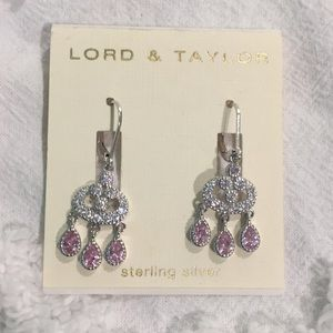 Lord and Taylor - sterling silver earrings